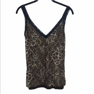 Only Hearts tank size Large NWT leopard NWT